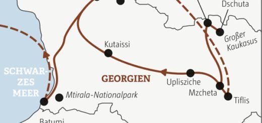Spannende Rundreise in zwölf Tagen quer durch Georgien – ein Land voller Kontraste Young Traveller