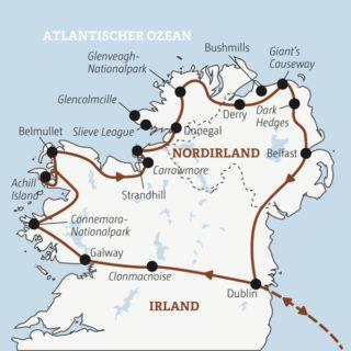 Die Naturhöhepunkte von Irland und Nordirland Young Traveller