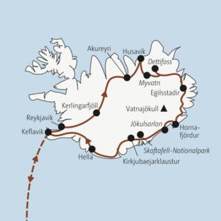 In knapp zwei Wochen einmal rund um Island: Gletscher