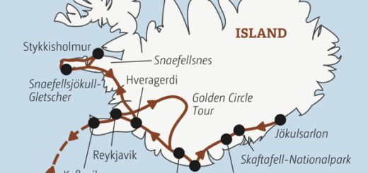 Islands Highlights: in 10 Tagen von Reykjavik über den Skaftafell-Nationalpark zur Gletscherlagune Jökulsarlon Young Traveller