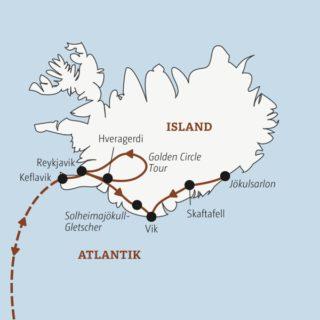 Rund um Silvester die Highlights von Island in zehn Tagen: von Reykjavik über Skaftafell bis zur Gletscherlagune Jökulsarlon Young Traveller