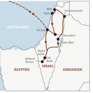 Zehn Tage Israel für Traveller zwischen 20 und 35 – zwischen See Genezareth und Negevwüste Young Traveller