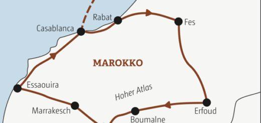 In 13 Tagen die Highlights Marokkos zwischen Atlantik und Sahara entdecken Young Traveller