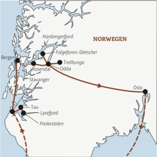 Die Highlights des Fjordlandes mit viel Action Young Traveller