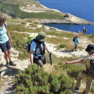 Wanderung auf Malta - Curt Bangert
