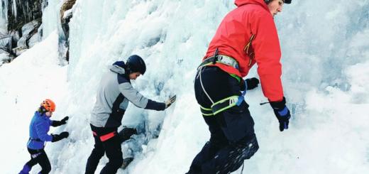 Grundkurs Eisklettern für Einsteiger im Nationalpark Hohe Tauern Gruppenreise 2020/2021 Alpen