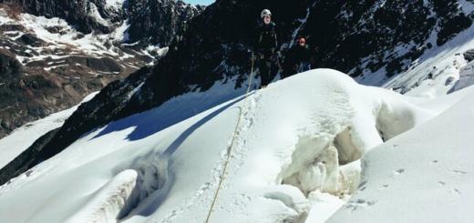 Grundkurs Eis & Hochtouren mit Besteigung der Wildspitze (3.772 m) Gruppenreise 2020/2021 Alpen