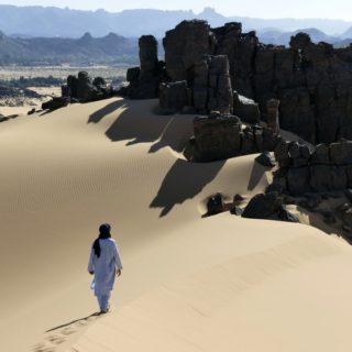 Abwechslungsreiche Wüste bei der Oase Djanet 2021 | Erlebnisrundreisen.de