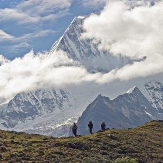 Abstieg vom Nele La Bhutan_2 2021 | Erlebnisrundreisen.de