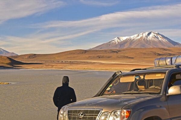 Vulkane und Lagunen im Altiplano