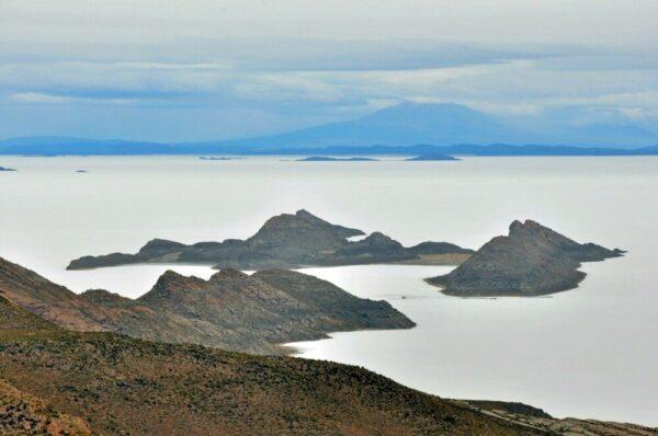 Inseln im Salar de Uyuni