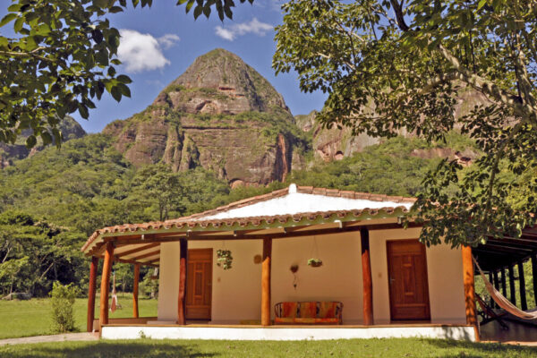 Unterkunft im Amboro Nationalpark