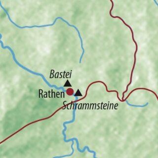 Karte Reise Deutschland Entspannte Fotoreise Sächsische Schweiz 2021/22