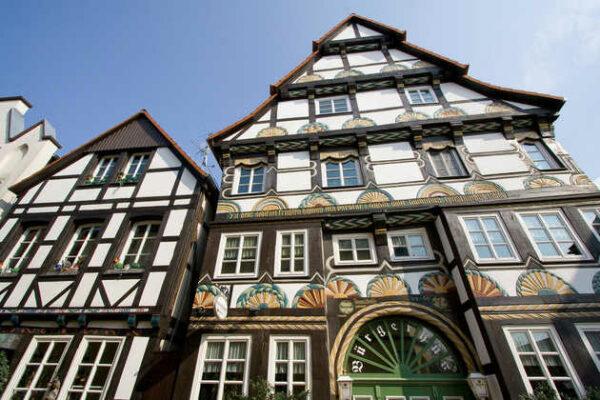 Historische Gebäude Bürgerhus - - © Hameln Marketing und Tourismus GmbH