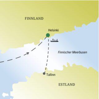 In fünf Tagen das winterliche Helsinki gemeinsam mit anderen weltoffenen Singles und Alleinreisenden erleben
