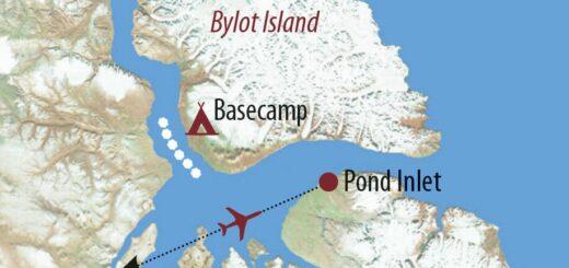 Karte Reise Kanada   Nunavut Im Reich der geheimnisvollen Narwale 2021/22
