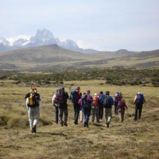Wanderer Mount Kenya 2021   Erlebnisrundreisen.de