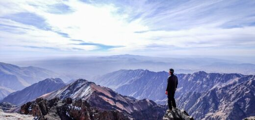 Auf den höchsten Berg Marokkos -  Djebel Toubkal Gruppenreise 2020/2021 Marrakesch