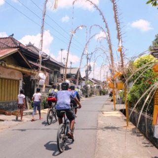 MTB Bali Unterwegs durch ein Dorf in Bali 2021 | Erlebnisrundreisen.de