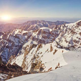 Marokko Toubkal in der Wintersonne 2021 | Erlebnisrundreisen.de