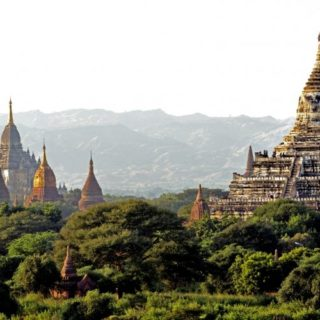 Blick auf North Guni Pagode Bagan 2021 | Erlebnisrundreisen.de