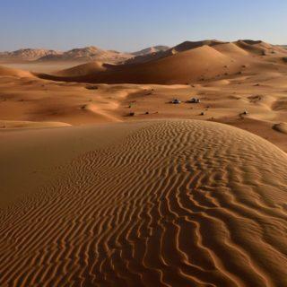 Oman-Blick-über-die-Dünen-in-der-Rub-Al-Khali 2021   Erlebnisrundreisen.de