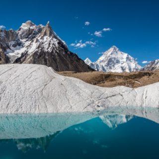 Blick auf Marble Peak und K2 2021 | Erlebnisrundreisen.de