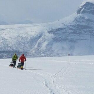 Skitour auf dem Kungsleden von Abisko nach Vakkotavare Gruppenreise 2020/2021 Kungsleden