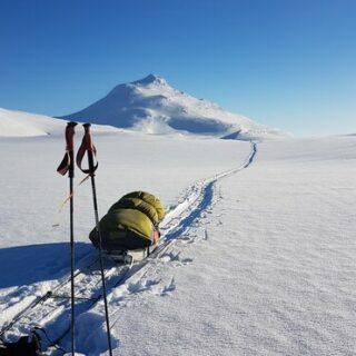 Wintertour in den Sarek-Nationalpark mit Zeltübernachtung Gruppenreise 2020/2021 Lappland