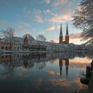 Winterliches Lübeck - Andrea Potratz