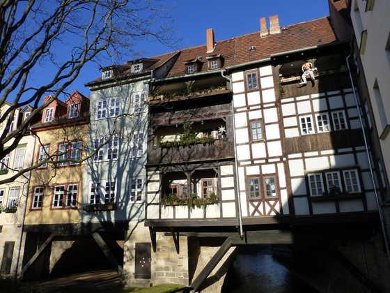Krämerbrücke in Erfurt - Monika Merkert