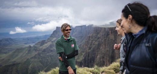 Blick vom Amphitheater in den Drakensbergen 2021 | Erlebnisrundreisen.de