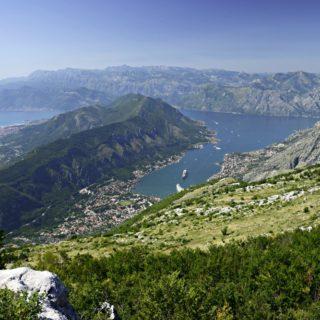 Blick auf die Bucht von KotorBlick auf die Bucht von Kotor 2021 | Erlebnisrundreisen.de