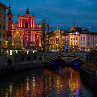 Ljubljana im Winter - Feel Green
