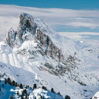Schneeschuhwandern in den Dolomiten - das Sagenreich der Faneshütte Gruppenreise 2020/2021 Alpen