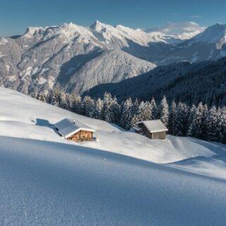 Silvester hoch über dem Inntal auf der Weidener Hütte Gruppenreise 2020/2021 Alpen