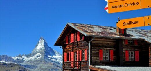 Zermatt in den Schweizer Alpen - Wandern am Fuße des Matterhorn Gruppenreise 2020/2021 Alpen