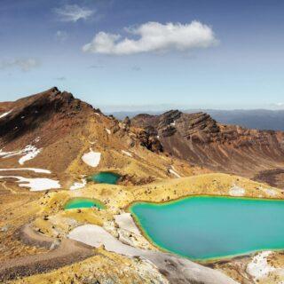 Emerald Lakes Tongariro National Park 2021 | Erlebnisrundreisen.de