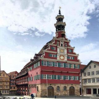 Historisches Rathaus in Esslingen - Eva Schraft
