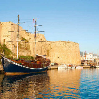 Hafen in Girne - Archiv