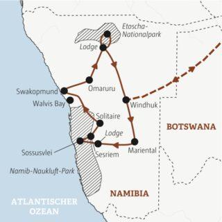 Entdeckerreisen Namibia – Luxus der Weite Sonderreise 2021 | Erlebnisrundreisen.de