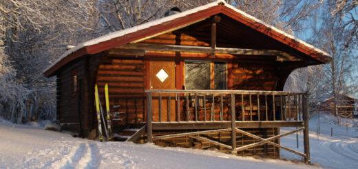 Hüttenmiete Gammelbyn Winter Individualreise