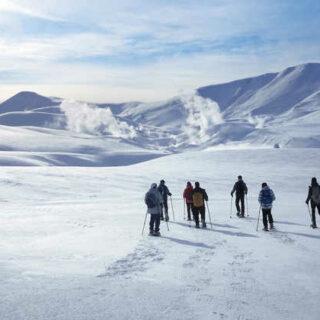Schneeschuhwandern im isländischen Hochland - Rita Muntermann