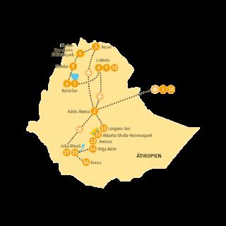 Rundreise Äthiopien 2021 / 2022 | Erlebnisrundreisen.de