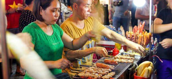 Streetfood in Hanoi