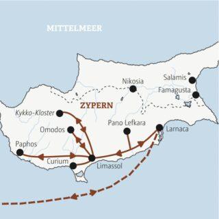 Entdeckerreisen Zypern – Insel der Aphrodite Sonderreise 2021 | Erlebnisrundreisen.de