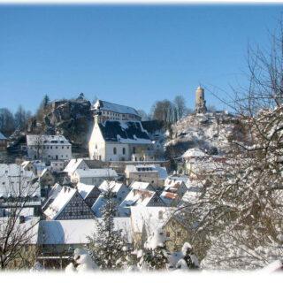 Waischenfeld im Schnee - - © Tourist-Information Waischenfeld