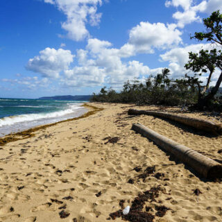 Matacajuajo-Strand bei Baracoa - Sandra Estevez