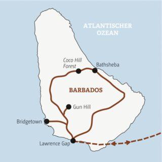 Entdeckerreisen Barbados – Zwischen Zuckerrohr und Kokospalmen Sonderreise 2022 | Erlebnisrundreisen.de