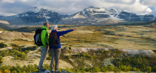Wanderer im Rondane Nationalpark - Visitnorway - © CH - Visitnorway.com
